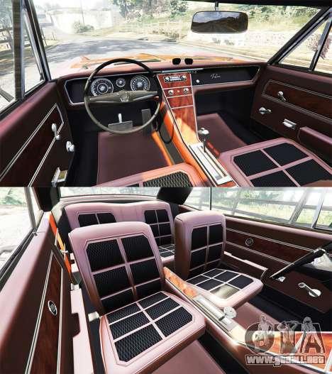 GTA 5 Buick Riviera 1963 vista lateral trasera derecha
