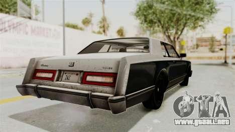 GTA 5 Dundreary Virgo IVF para GTA San Andreas left