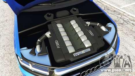 GTA 5 Audi Q7 2015 [rims2] delantero derecho vista lateral