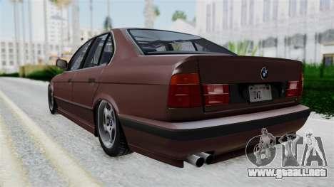 BMW 525i E34 1994 SA Plate para GTA San Andreas left