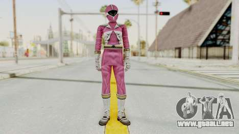 Power Rangers Lightspeed Rescue - Pink para GTA San Andreas segunda pantalla