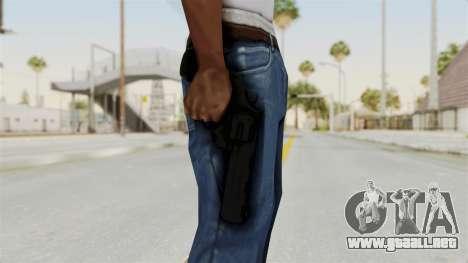 Colt .357 Black para GTA San Andreas tercera pantalla