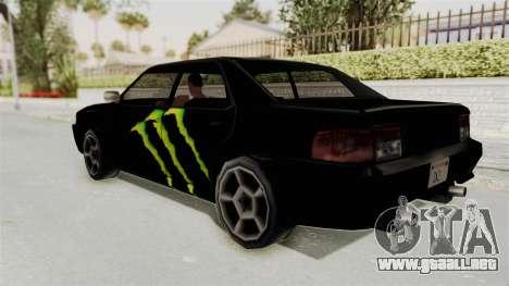 Monster Sultan para GTA San Andreas left