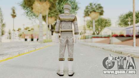Power Rangers In Space - Silver para GTA San Andreas tercera pantalla