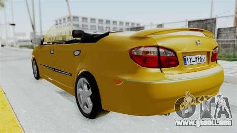 Nissan Maxima Spyder para la visión correcta GTA San Andreas