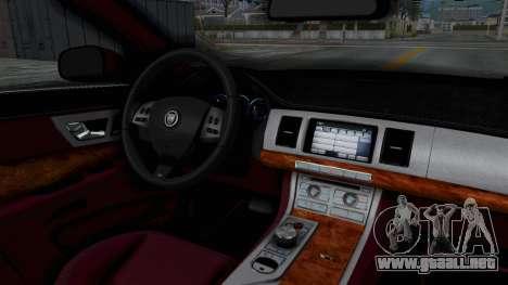 Jaguar XJ 2010 para visión interna GTA San Andreas