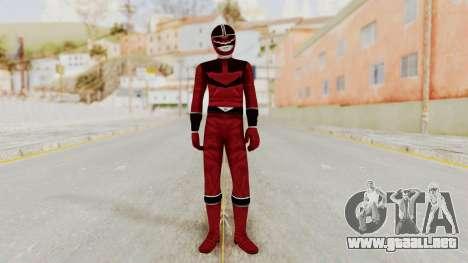 Power Rangers Time Force - Quantium para GTA San Andreas segunda pantalla