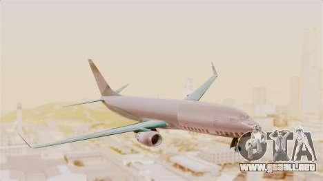 Boeing 737-3U3 Garuda Indonesia para GTA San Andreas vista posterior izquierda