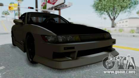 Nissan Sileighty TOD para la visión correcta GTA San Andreas