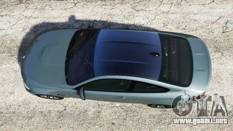 GTA 5 BMW M4 GTS vista trasera