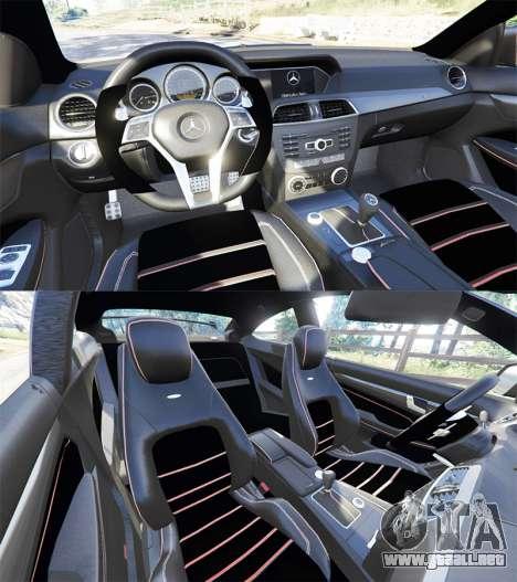 Mercedes-Benz C63 Coupe para GTA 5