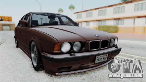 BMW 525i E34 1994 SA Plate para GTA San Andreas
