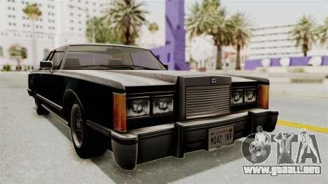 GTA 5 Dundreary Virgo SA Style para la visión correcta GTA San Andreas