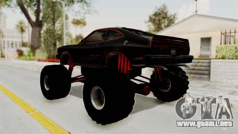 Ford Mustang King Cobra 1978 Monster Truck para GTA San Andreas left