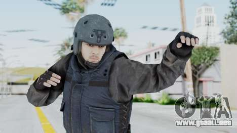MGSV Phantom Pain Zero Risk Vest v2 para GTA San Andreas