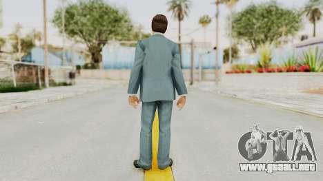 Scarface Tony Montana Suit v3 with Glasses para GTA San Andreas tercera pantalla