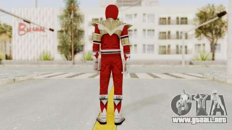 Mighty Morphin Power Rangers - Red Armor para GTA San Andreas tercera pantalla