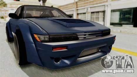 Nissan Silvia Sil80 para la vista superior GTA San Andreas