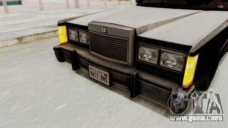 GTA 5 Dundreary Virgo IVF para visión interna GTA San Andreas