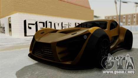 Felino CB7 para la visión correcta GTA San Andreas