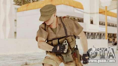 MGSV Phantom Pain CFA Combat Vest 1 v2 para GTA San Andreas