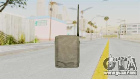 Metal Slug Weapon 4 para GTA San Andreas segunda pantalla