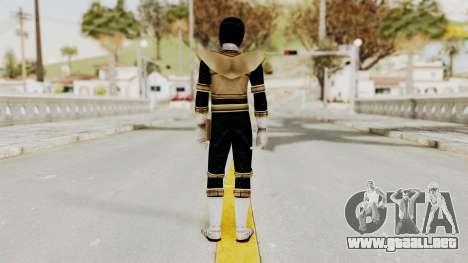 Power Ranger Zeo - Gold para GTA San Andreas tercera pantalla