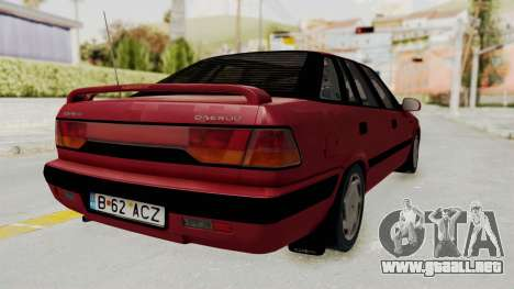 Daewoo Espero 1.5 GLX 1996 v2 Final para la visión correcta GTA San Andreas