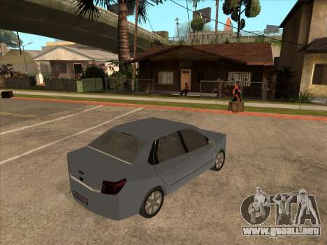 Datsun on-DO para GTA San Andreas vista hacia atrás