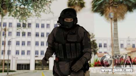 MGSV Phantom Pain Cipher XOF Afghanistan No Mask para GTA San Andreas