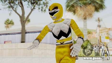 Power Rangers Lost Galaxy - Yellow para GTA San Andreas