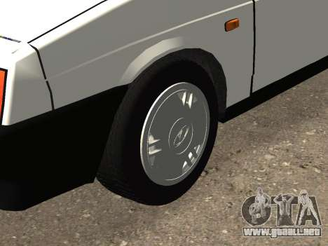 VAZ 2108 Stock by Greedy para vista lateral GTA San Andreas