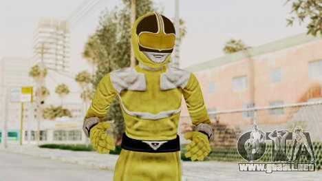 Power Rangers Time Force - Yellow para GTA San Andreas