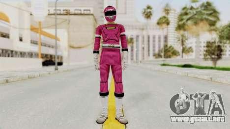 Power Rangers Turbo - Pink para GTA San Andreas segunda pantalla