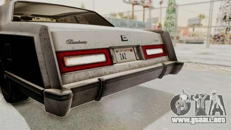 GTA 5 Dundreary Virgo IVF para la vista superior GTA San Andreas