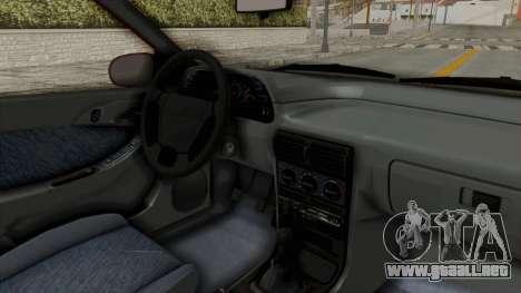 Daewoo Espero 1.5 GLX 1996 v2 Final para visión interna GTA San Andreas