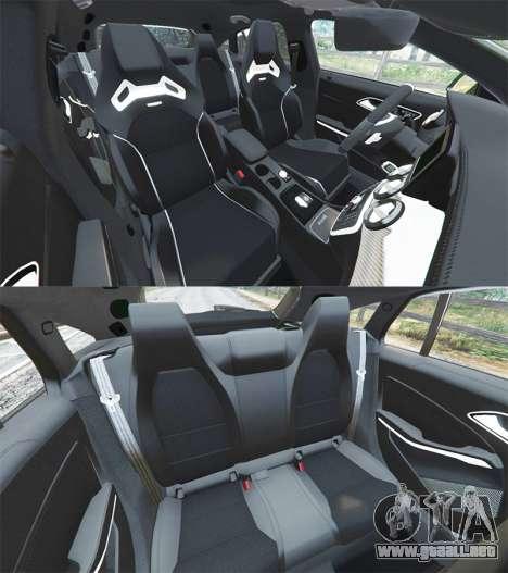 Mercedes-Benz CLA 45 AMG [AMG Wheels] para GTA 5
