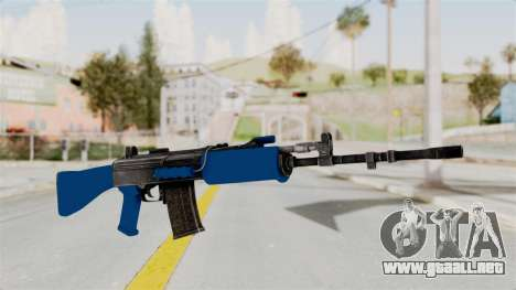 IOFB INSAS Dark Blue para GTA San Andreas
