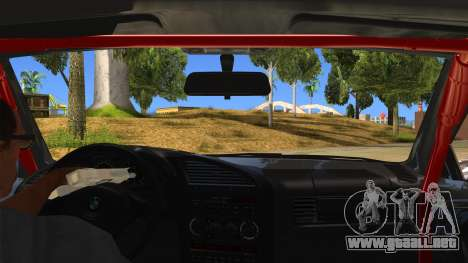 BMW M3 Drift Missile para visión interna GTA San Andreas