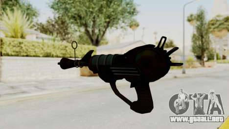 Ray Gun from CoD World at War para GTA San Andreas segunda pantalla