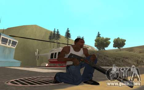 Redline weapon pack para GTA San Andreas sexta pantalla