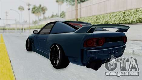 Nissan 180SX BETA para GTA San Andreas left