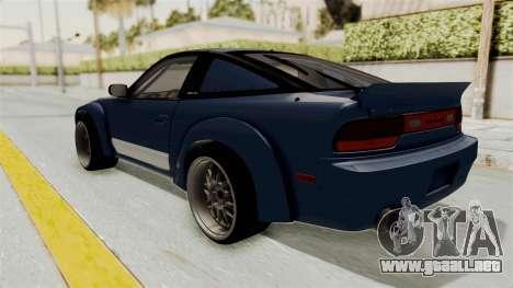 Nissan Silvia Sil80 para GTA San Andreas left