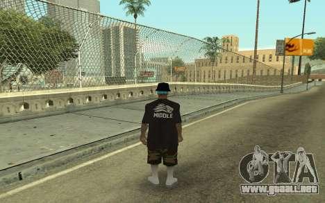 Varios Los Aztecas Gang Member para GTA San Andreas segunda pantalla