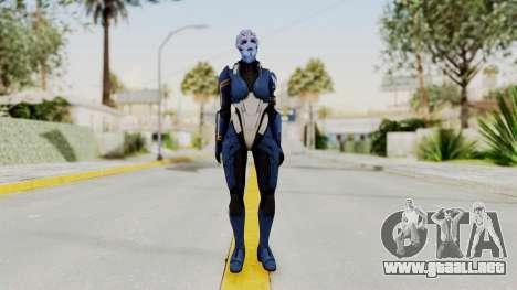 Mass Effect 2 Tesla Vasir para GTA San Andreas segunda pantalla