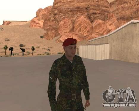 Pak Militar Ruso para GTA San Andreas sexta pantalla