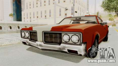 Beta VC Sabre Turbo para GTA San Andreas
