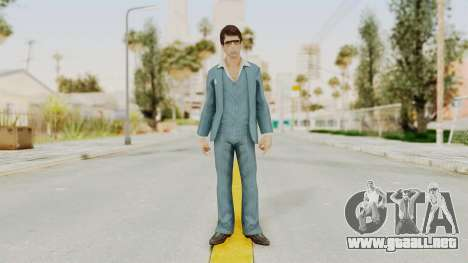 Scarface Tony Montana Suit v3 with Glasses para GTA San Andreas segunda pantalla
