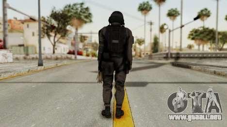MGSV Phantom Pain Cipher XOF Afghanistan No Mask para GTA San Andreas tercera pantalla