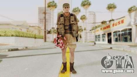 MGSV Phantom Pain CFA Combat Vest 2 v2 para GTA San Andreas segunda pantalla